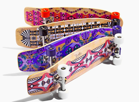 emilio pucci decks out dolce vita skateboards with italian motifs | What's new in Visual Communication? | Scoop.it