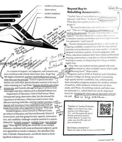 Principals Close Reading With Teachers | Common Core Implementation | Scoop.it