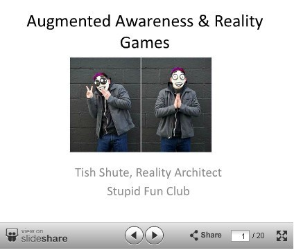 Augmented Awareness & Reality Games, ARE2012 | Transmedia: Storytelling for the Digital Age | Scoop.it