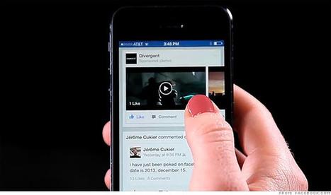 Et si le son s'activait automatiquement dans vos vidéos Facebook ? | Actualité Social Media : blogs & réseaux sociaux | Scoop.it