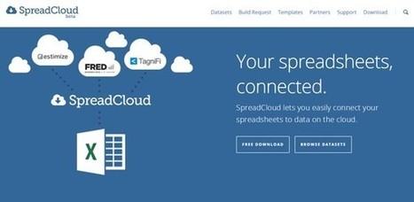 SpreadCloud, complemento de Excel para importar datos financieros desde bases en la nube | Economía y empresa | Scoop.it