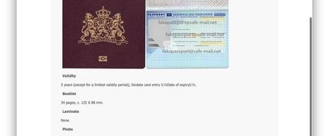 Te koop: Nederlands paspoort (t.e.a.b.)   Mediawijsheid in het VO   Scoop.it