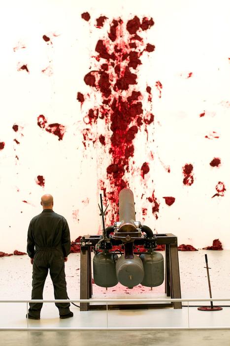 Anish Kapoor : Shooting into the Corner | Art Installations, Sculpture, Contemporary Art | Scoop.it