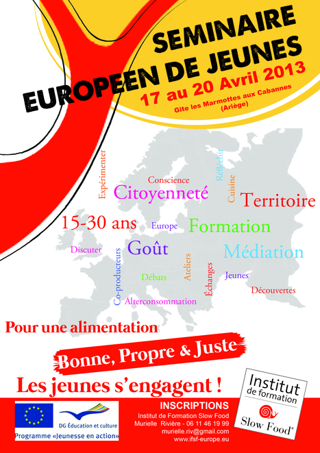 Pour une alimentation bonne, propre et juste ... - Slow Food France   Slow community   Scoop.it