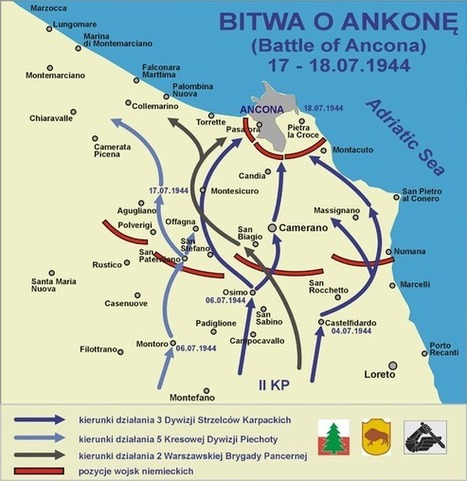 Honour to the Polish Troops: The Battle of Ancona | Le Marche another Italy | Scoop.it