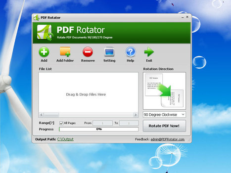 PDF Rotator - Rotate PDF Pages 90 or 180 Degrees Permanently - Rotate PDF Files | Time to Learn | Scoop.it