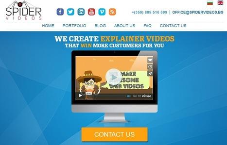 Website Redesign Case Study: Spider Videos | ICT216 Blog | Scoop.it