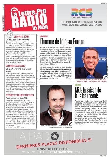 La Lettre Pro de la Radio : découvrez le n° 58 - La Lettre Pro de la Radio | Radio d'entreprise | Scoop.it