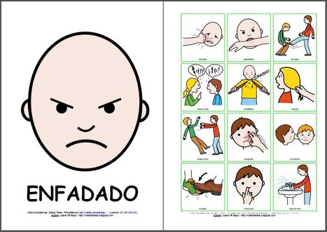 ARASAAC - MATERIALES - Juego de los sentimientos.   special education App   Scoop.it
