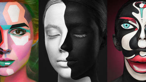 Insane Makeup Turns Models Into 2-D Paintings Of Famous Artists | Art | Scoop.it