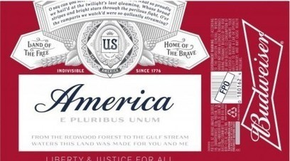 Budweiser seeks approval to be called 'America' this summer | Upsetment | Scoop.it