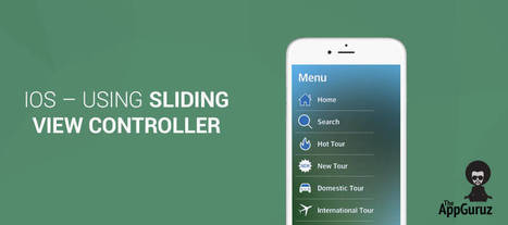 #iOS Using Sliding View #Controller #Tutorial | Mobile Technology | Scoop.it