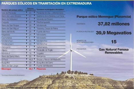El primer parque eólico de Extremadura podría estar en marcha en dos años | Blogempleo Oportunidades | Scoop.it