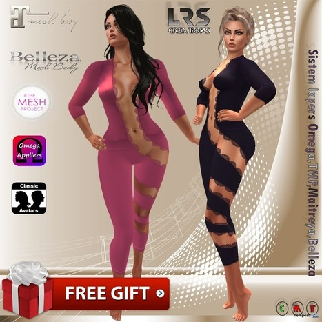 Cellya Jumpsuit Group Gift by LRS Creations | Teleport Hub - Second Life Freebies | Second Life Freebies | Scoop.it