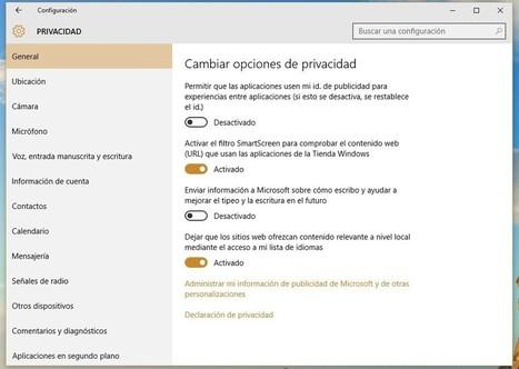 Windows 10, privacidad y sacrificios   Office a full   Scoop.it