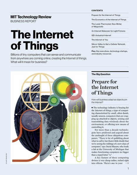 FREE BUSINESS REPOR The Internet of Things  MIT Technology Review | Information, memories and tecnopolitics | Scoop.it