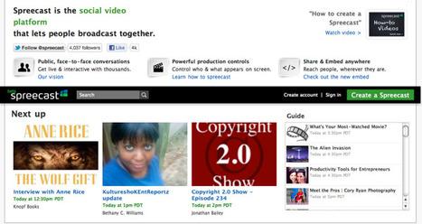 @Spreecast - People Broadcasting Together | Emerging Digital Workflows [ @zbutcher ] | Scoop.it