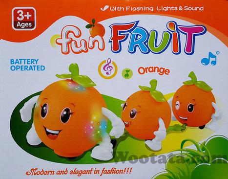 Mainan Buah Buahan Lucu Fun Fruit Orange | Toko Mainan Anak Online | Scoop.it