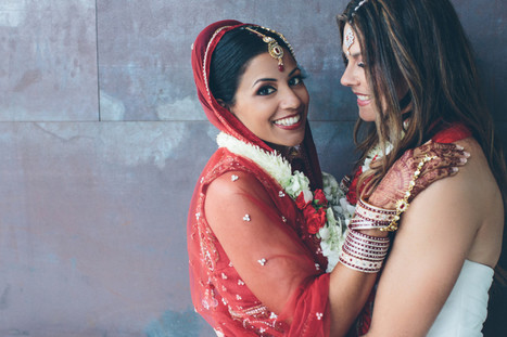 Get An Inside Look At This Stunning Lesbian Indian Wedding | News You Can Use | Scoop.it