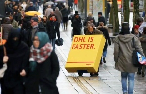 DHL ridiculise ses concurrents | streetmarketing | Scoop.it
