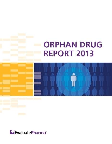 EvaluatePharma Orphan Drug Report 2013 | Rare Diseases - Orphan drugs | Scoop.it