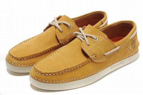 Timberland Earthkeepers Classic Two Eye Boat Shoe Mens Yellow | my style | Scoop.it