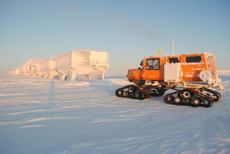 hugh broughton architects: halley VI mobile antarctic research station | industrial design | Scoop.it