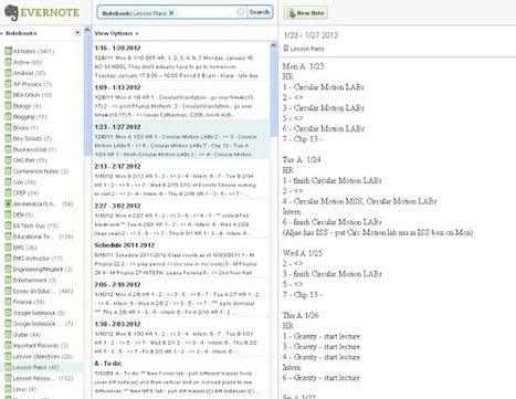 Part 4: Lesson Planning with Evernote | Flipped classroom | Scoop.it