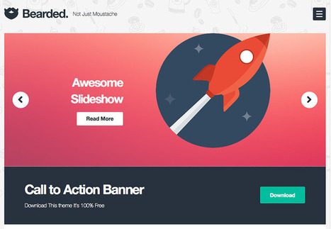 The best free WordPress themes for November 2013   Smad IT - UX & Web Design   Scoop.it