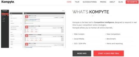 Kompyte te ayuda a conocer mejor a tu competencia | AgenciaTAV - Asistencia Virtual | Scoop.it