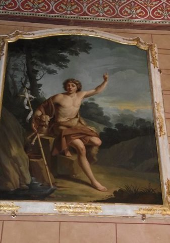Le tableau de Saint Jean-Baptiste de retour   Vallée du Lot et du Vignoble   Scoop.it