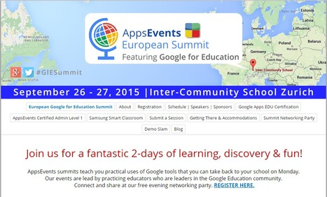 European Google for Education Summit 2015 | elearning design concepts | Scoop.it