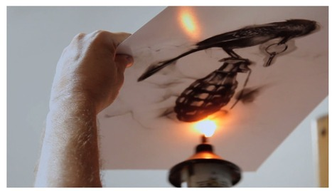 Steve Spazuk peint avec du feu   [Art] - artist's point of view, creative process &  interesting pieces   Scoop.it