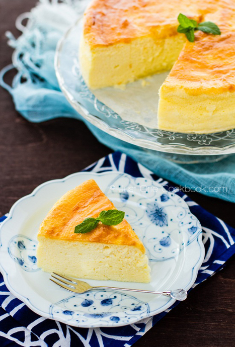Japanese Cheesecake | Cream Cheesecake チーズケーキ | The Rambling Epicure | Scoop.it