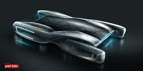 Create a Futuristic Concept Car in Photoshop | Psdtuts+ | Photoshop Tutorials | Scoop.it