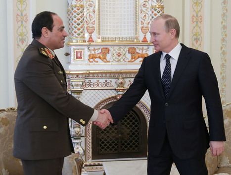 Egypt makes big economic push as leader-in-waiting Sisi courts Russia - Christian Science Monitor | Egypt Week 4 | Scoop.it