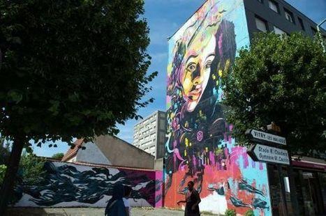 Les murs hauts en couleur de Vitry, capitale du street art | Un peu de tout et de rien ... | Scoop.it