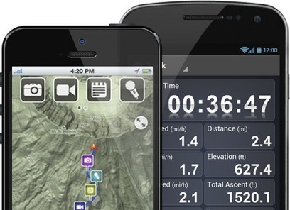 GPX on Maps | justin31wc | Scoop.it