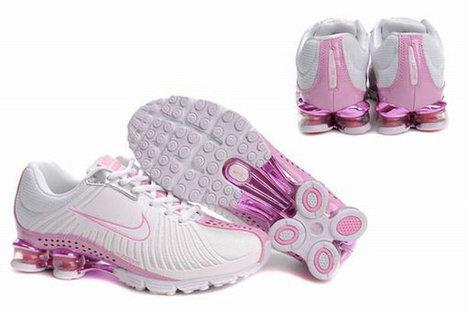 Nike Shox R4 Femme 0001 [CHAUSSURES NIKE SHOX 00374] - €61.99 | PAS CHER Nike Shox femme | Scoop.it