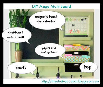"""The Elusive Bobbin: Plans for the """"Mega Mom Board"""" 