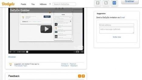 dodydo – Crea cajas de contenido y permite que otros colaboren en ellas | Educación, Tecnologías y más... | Scoop.it