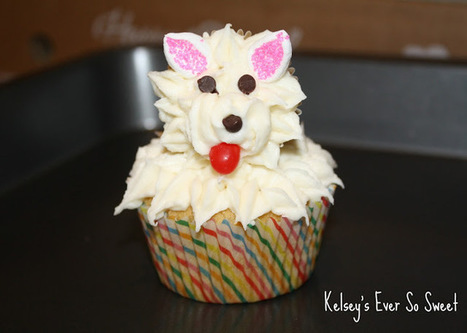Ever So Sweet: Puppy Dog Cupcakes! | Recipes | Scoop.it