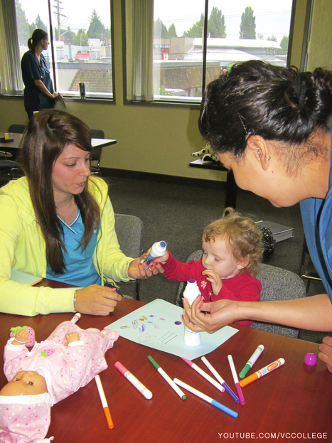 Vancouver Career College PN program students working with kids in Abbotsford, BC | Vancouver Career College | Scoop.it
