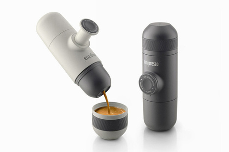 wacaco saves the workday with hand-powered portable espresso machine - designboom | architecture & design magazine | Cool Companies, Products & Services | Scoop.it