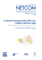 Open Environmental Data | Networking the world - Espace et réseaux | Scoop.it
