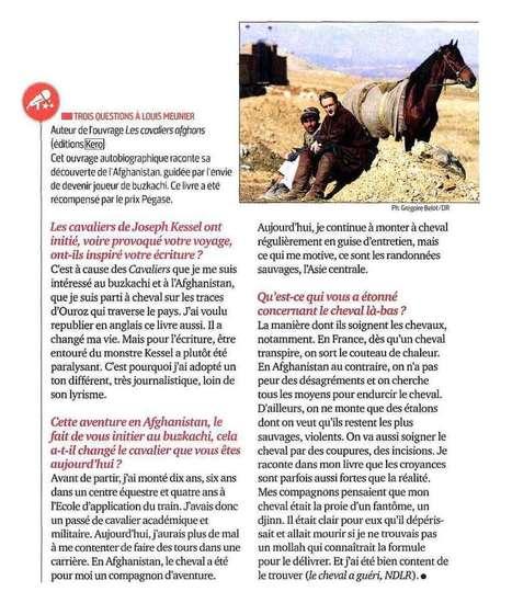 Interview de Louis Meunier dans Cheval Magazine   Louis Meunier   Scoop.it