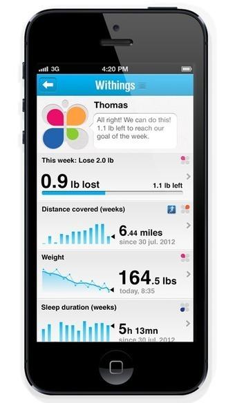 Withings - Application Health Mate - Présentation   Pharmacie OTC   Scoop.it