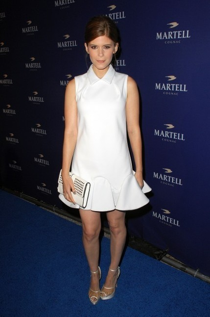 Kate Mara: A Vision in White | Martell Caractere Launch Event in L.A. | Scoop.it