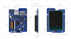4Duino combines Arduino, WiFi, and a 2.4-inch touchscreen | Open Source Hardware News | Scoop.it