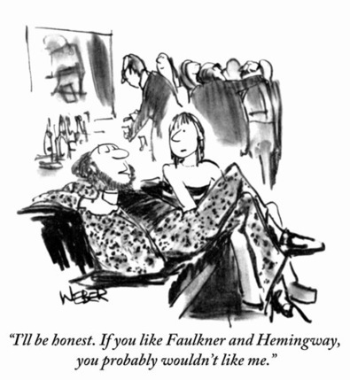 Slide Show: Literary New Yorker Cartoons | Google Lit Trips: Reading About Reading | Scoop.it